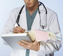 doctor con carpeta